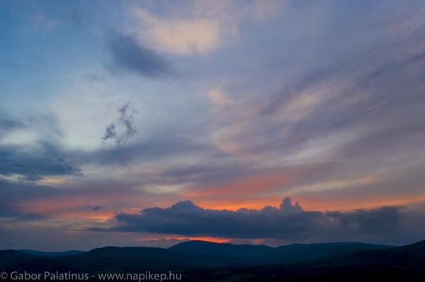 Pomaz sunset