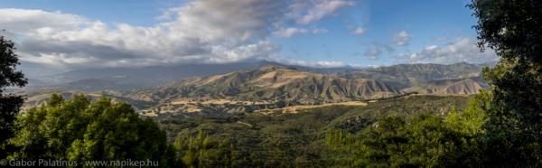 Cachuma lake panorama