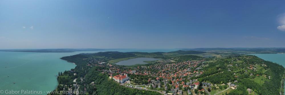 Tihany Belső-Tó Panorama