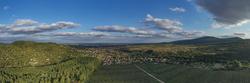 Pomaz autumn panorama