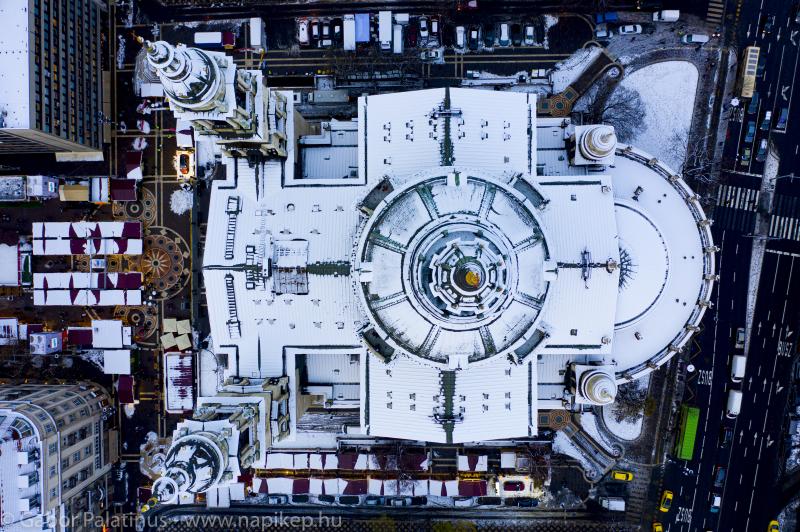 Bazilika - with snow
