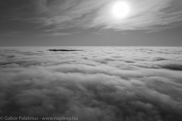 over the clouds III
