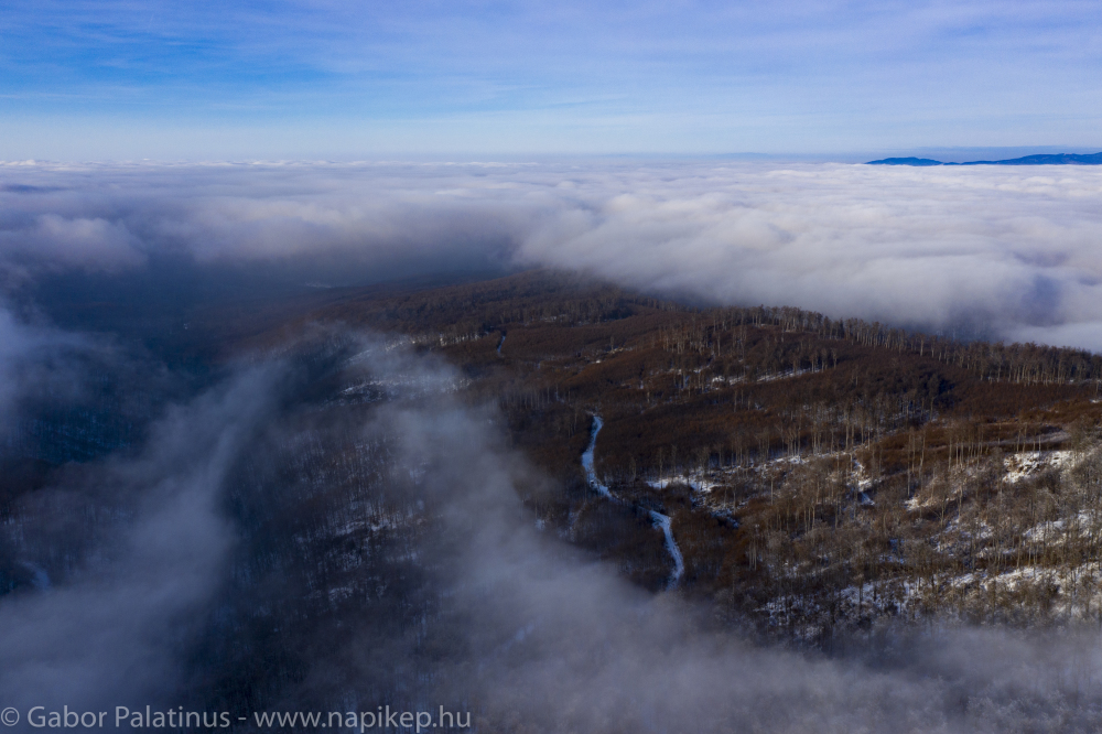 over the clouds IV.