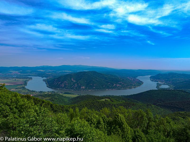 Danube curve from Prédikálószék