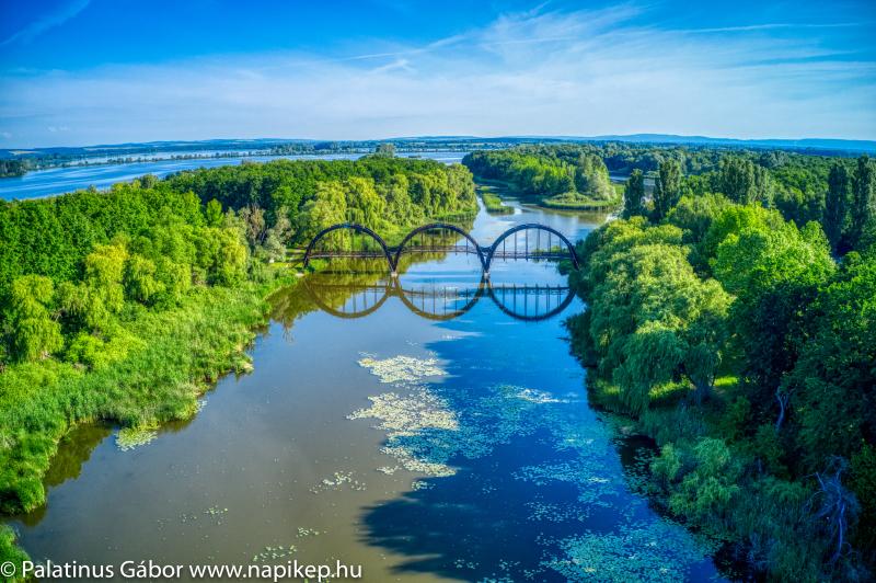 Kányavári-island bridge