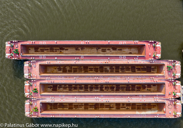 empty barges