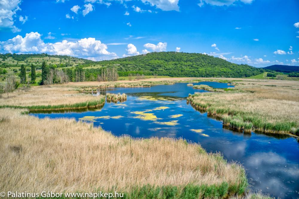 Tihany small lakes