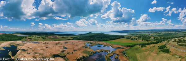 Tihany, External-lake panorama