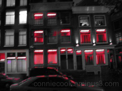 Redlight District, Amsertdam, Holland