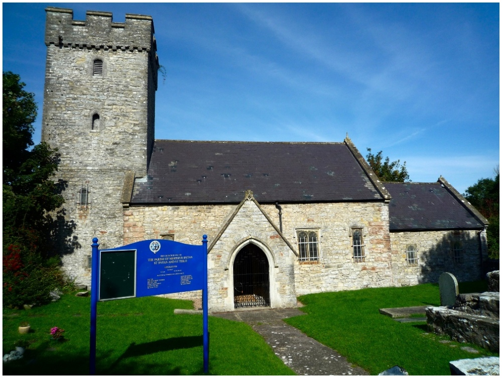 The Church of St Dyfan and St Teilo