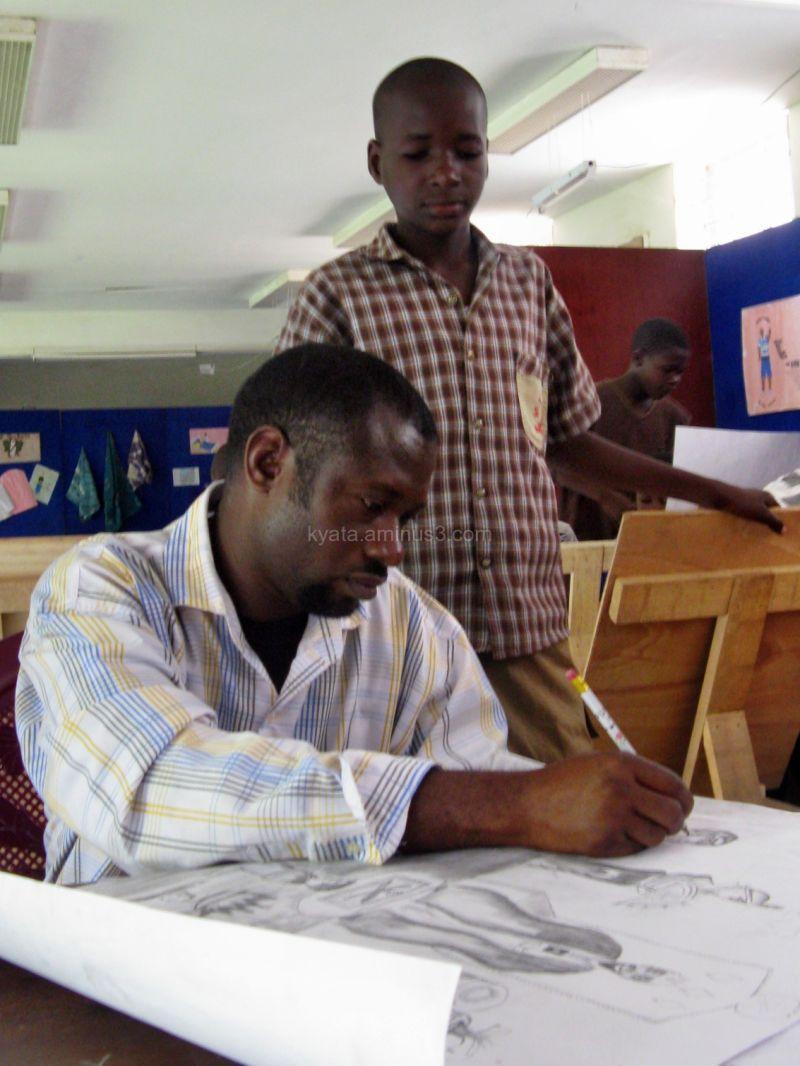 Nigeria, Maiduguri, Art Lessons
