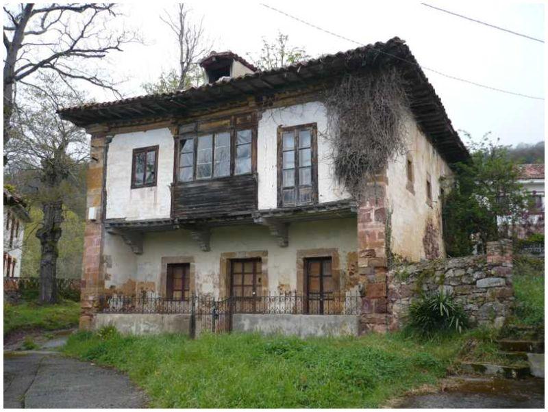 La casa de los Riego, en Fresno, Asturias
