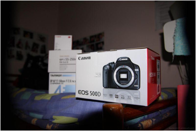 Canon 500D + Tamon 17-50 f2.8 + Canon 55-250 IS
