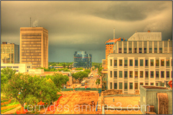 Over the top HDR