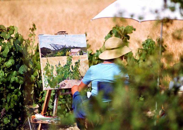 Sur les traces de Cézanne