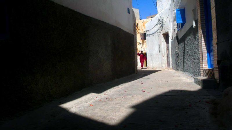 Dans les ruelles d'Azemmour