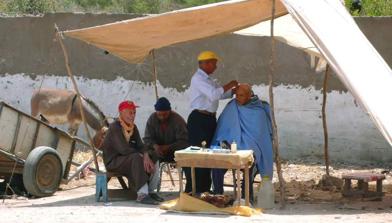 Le barbier de moulay Bouchaïb