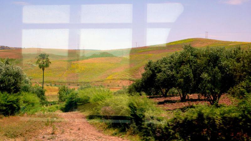 Au train où vont les paysages VI...