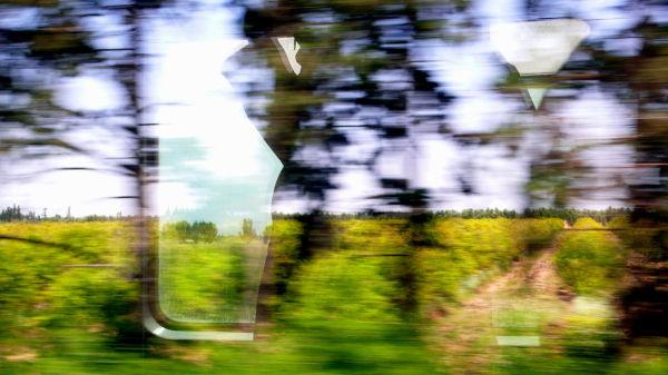Au train où vont les paysages VII...
