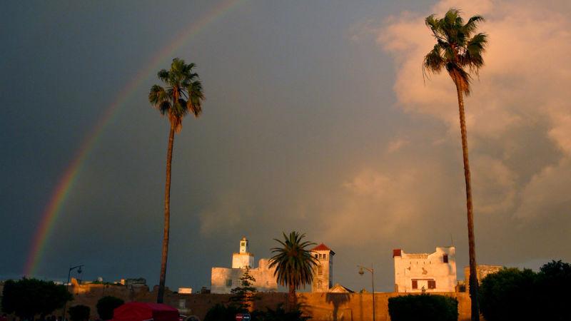 Arc-en-ciel à El Jadida