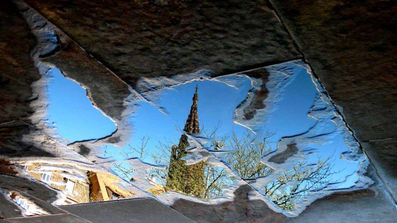 Reflets cathédrale1