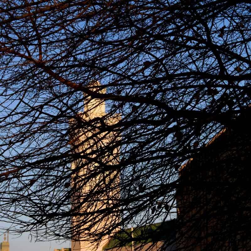Point de vue sur minaret