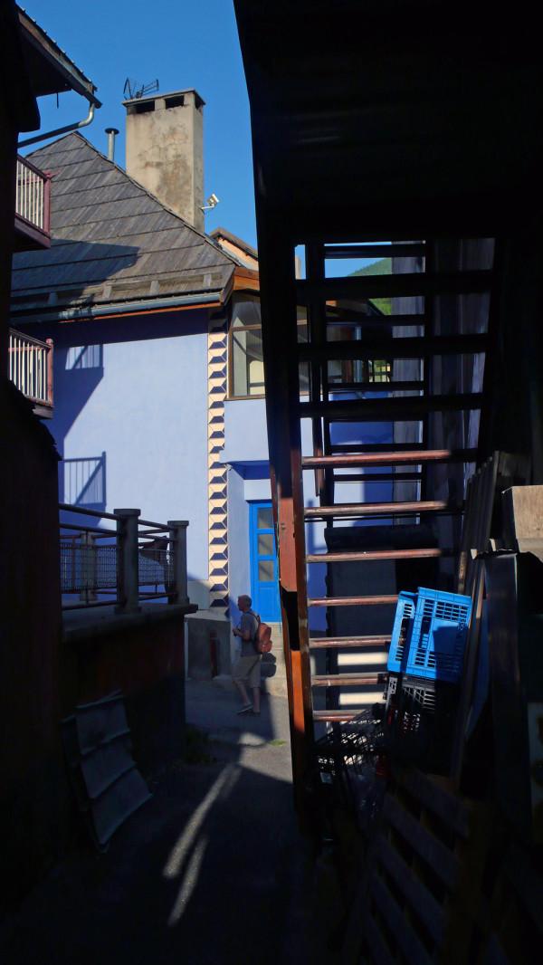 L'échelle graduelle du bleu
