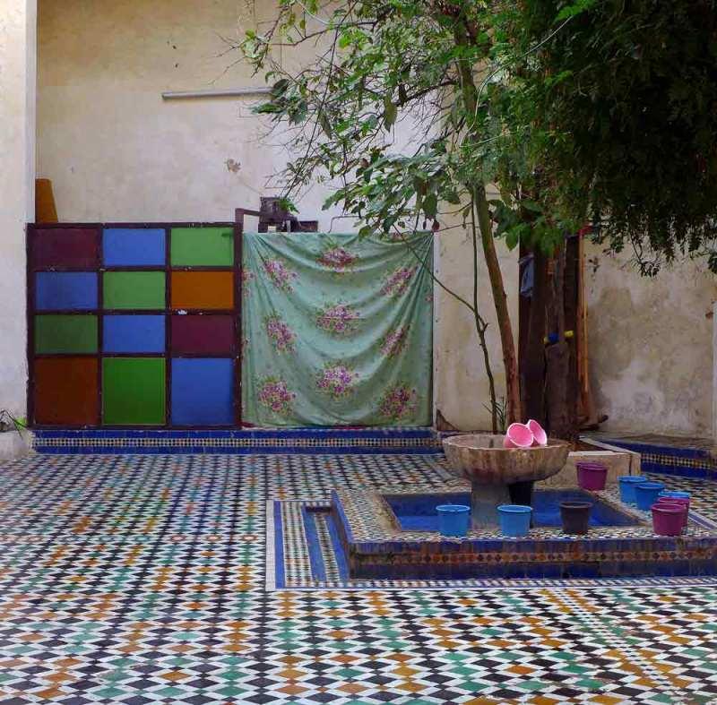 Intérieur  petite  mosquée
