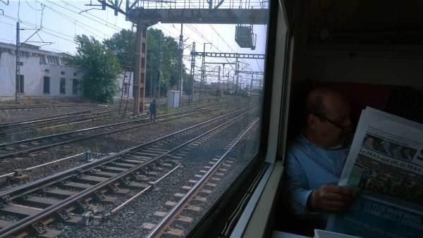 Au train où vont les paysages