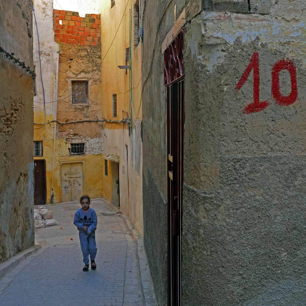 Grammar of the medina