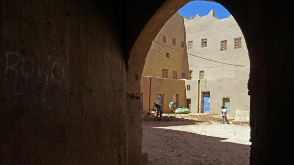 Porte de la kasbah