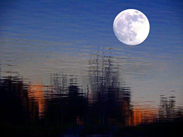 La pleine lune ou presque