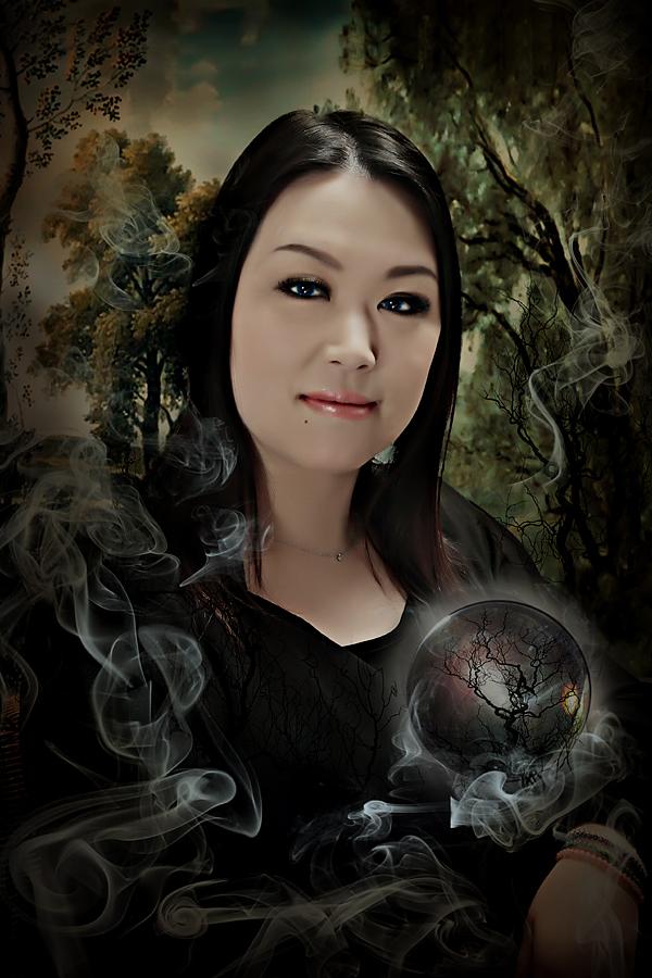 A fortune-teller's portrait2