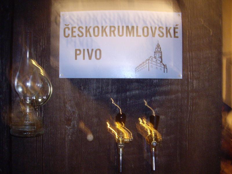 Cesky Krumlov pivo