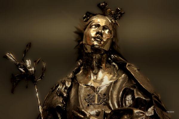 La vierge d'Or