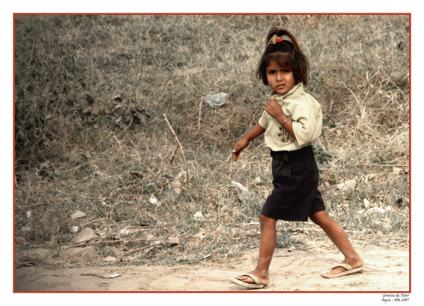 Inde : Portrait d'enfant