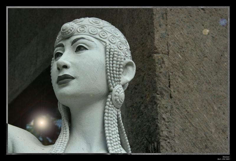 Bali : Photographie de statue