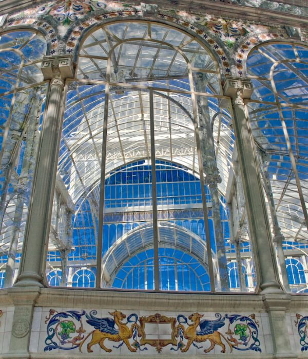 Crystal palace in El Retiro, Madrid