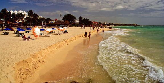 Beach at Playa Del Carmen