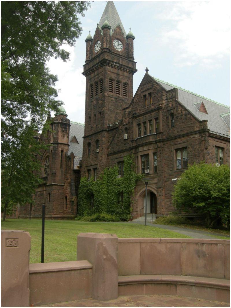 Mary Lyon Hall, Mount Holyoke College, Ma.
