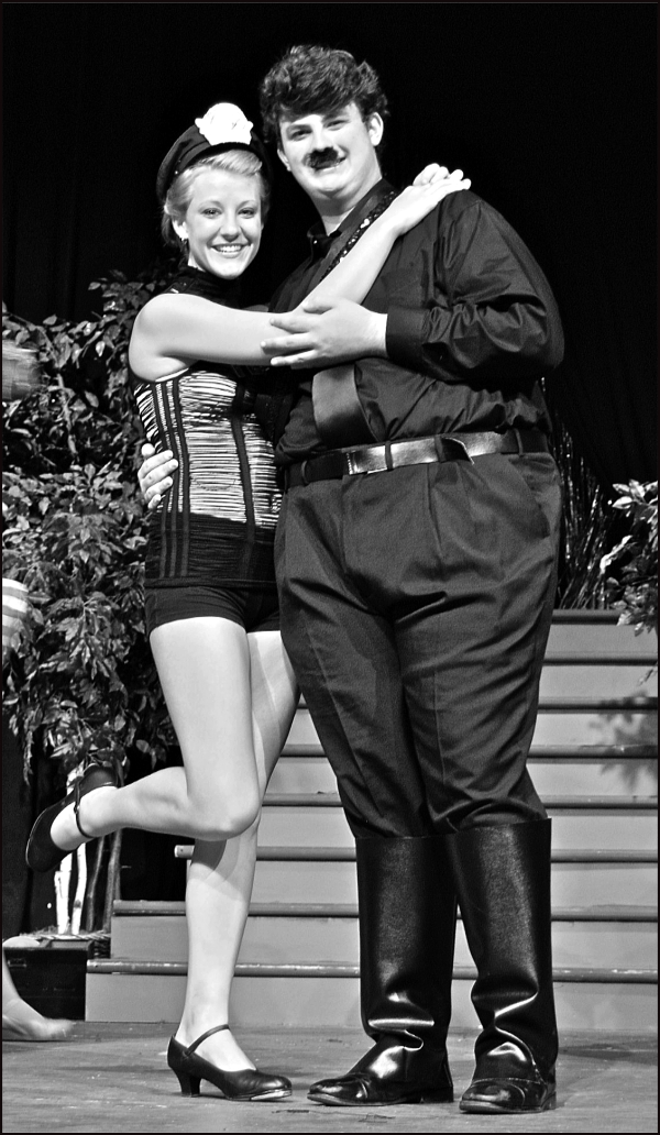 """Ulla and Hitler in """"The Producers"""""""