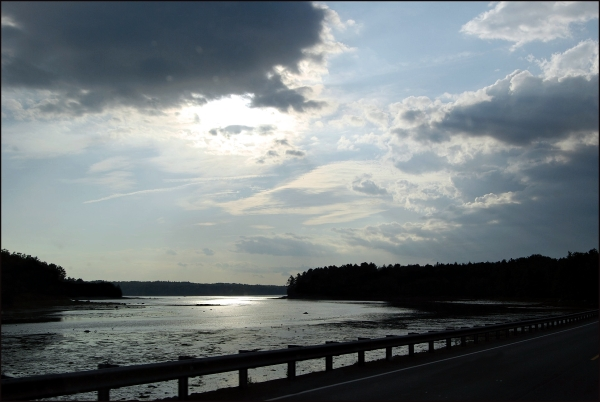 Inlet in Maine