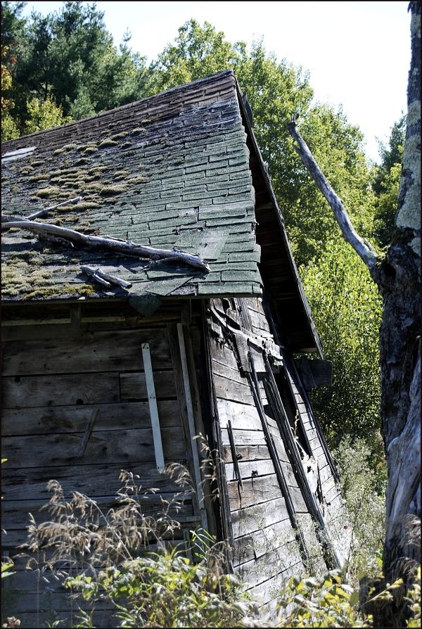 Old Shack Near Hartland, Maine