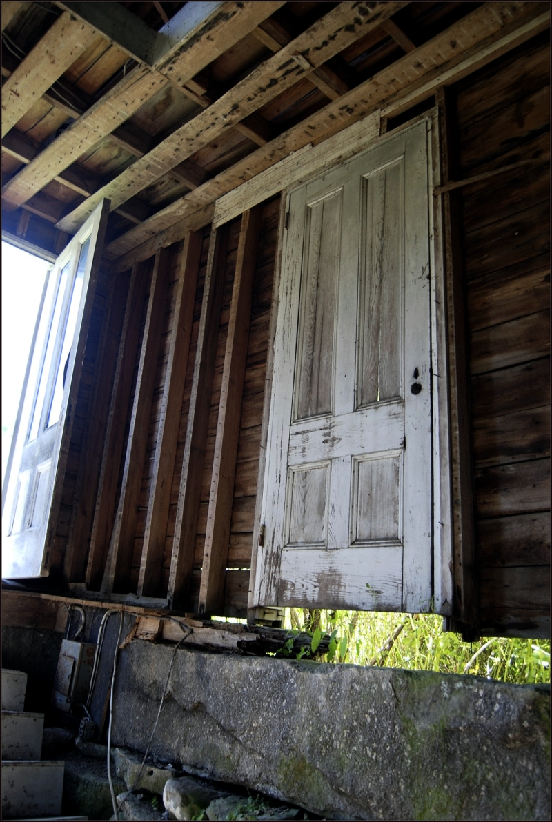 Abandoned House / Side Door
