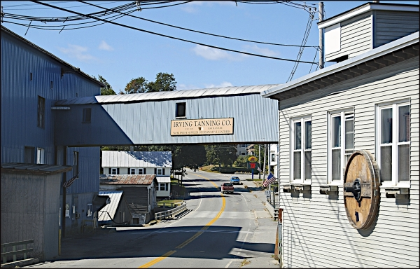 Irving Tannery, Hartland, Maine