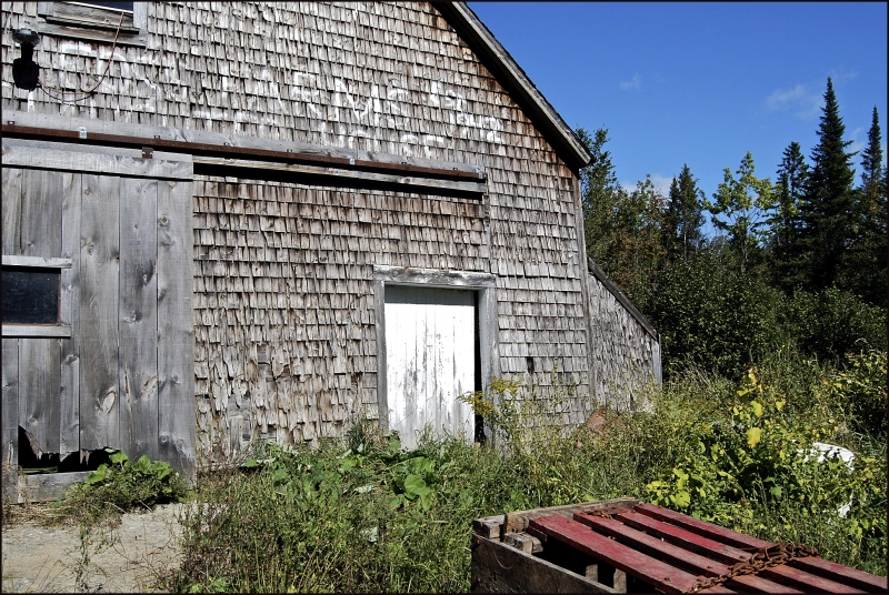 Abandoned Slaughterhouse in Maine