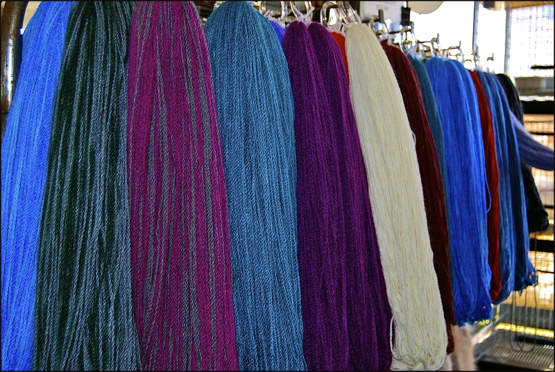 Yarn, Common Ground Fair, Maine