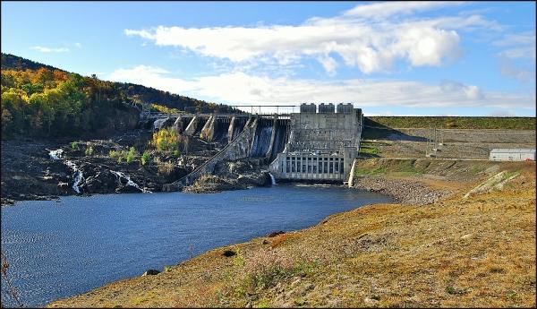 Wyman Dam, Moscow, Maine 2009