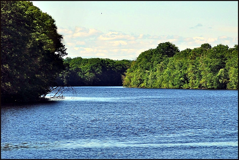 Kennebec River in Madison Maine