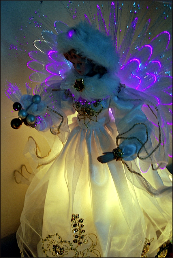Lighted Angel Ornament